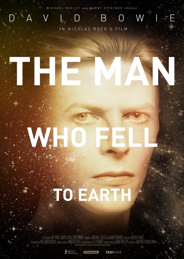 デヴィッド・ボウイ主演『地球に落ちて来た男』爆音上映します!