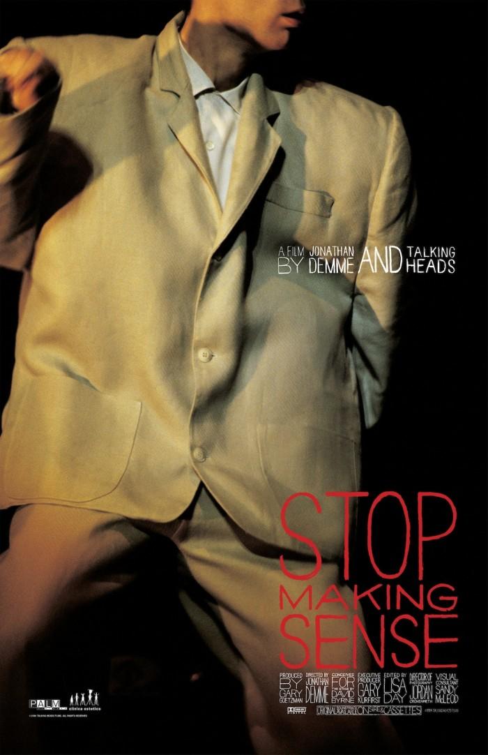 ジョナサン・デミ監督追悼『STOP MAKING SENSE』都内2劇場にて上映