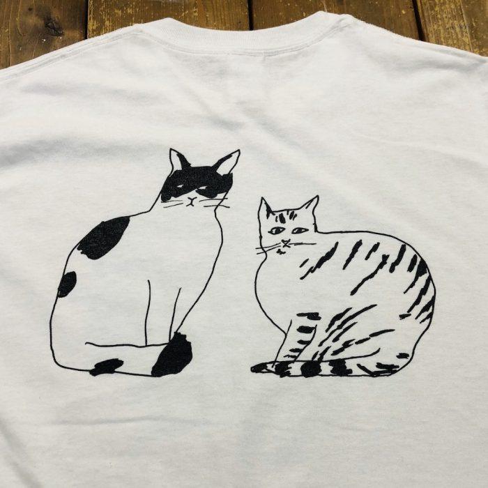 本日より湯浅湾「脈猫Tシャツ」をウェブショップにて発売!